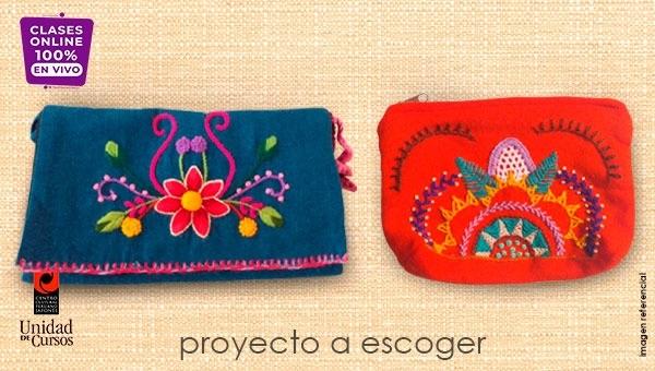 Bordado Al Escoger (4 Clases)