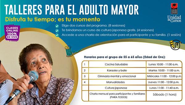 Programa De Adulto Mayor (Edad De ORO: 55 A 65 Años)