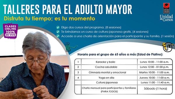 Programa De Adulto Mayor (Edad De PLATINO: 65 Años En Adelante)