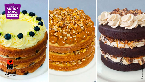 Minitortas Gourmet - Naked, Layer & Drip Cakes (4 Meses)
